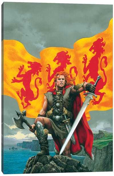 Brian Boru Canvas Art Print
