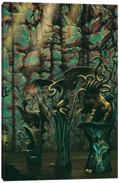Darken Canvas Art Print