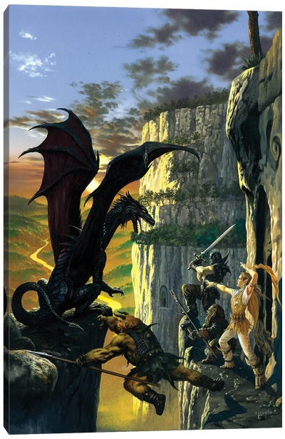 Darkstone Canvas Art Print