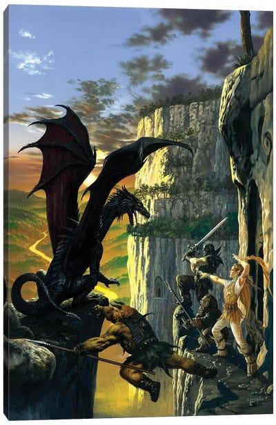 Darkstone Canvas Art Print