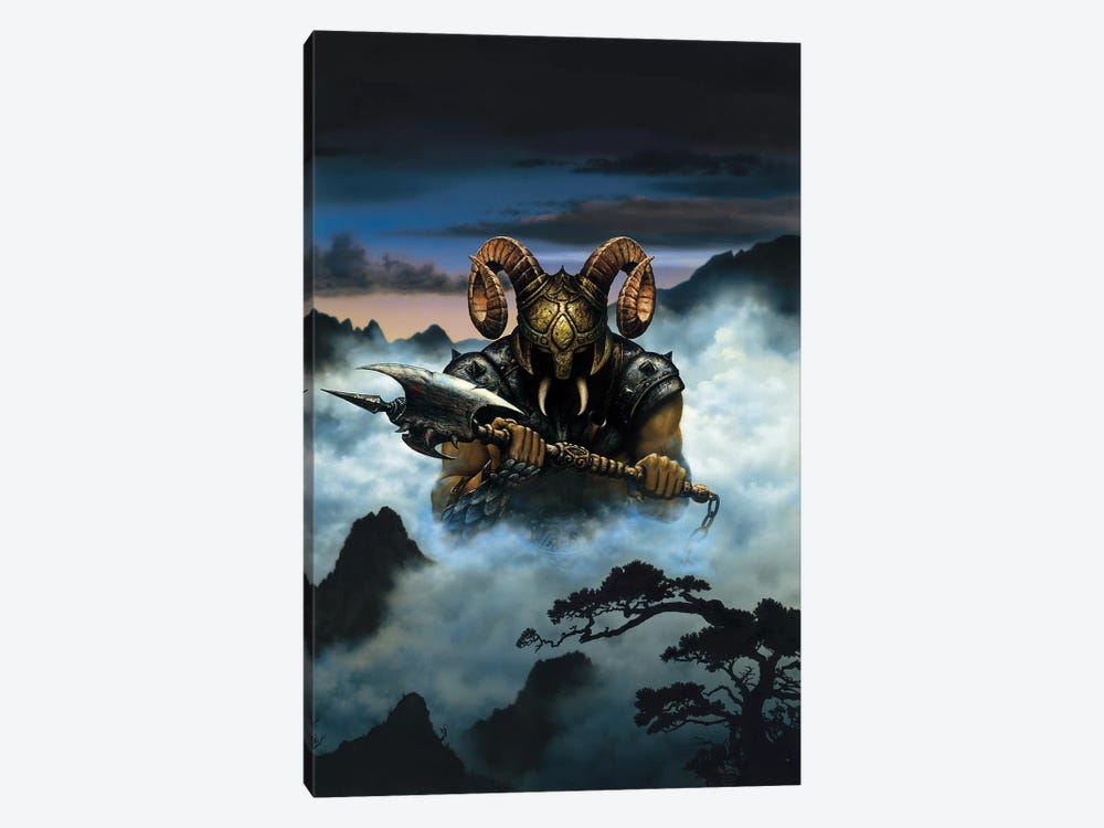 Demon by Ciruelo 1-piece Canvas Wall Art