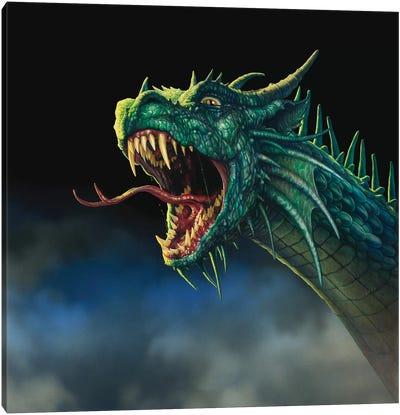 Draco Rex V Canvas Art Print