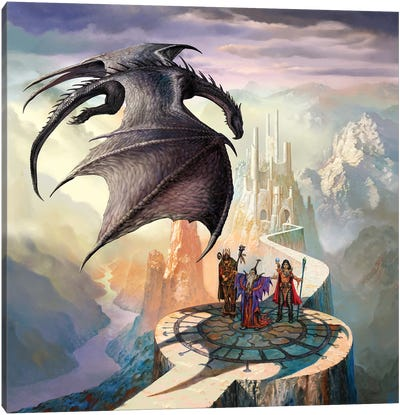 Dragon Callers Canvas Art Print