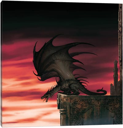 Dragon Lord Canvas Art Print
