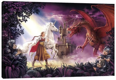 Ench King Canvas Art Print