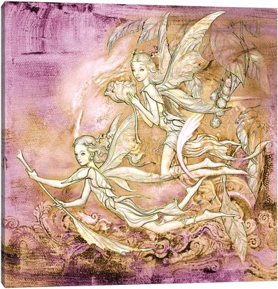 Amanec Fairies Canvas Art Print