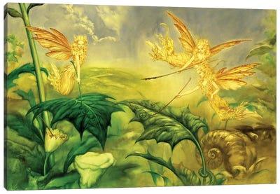 Fairy Artists Canvas Art Print