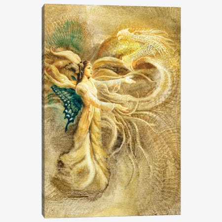 Fairy Queen Canvas Print #CIL44} by Ciruelo Canvas Art