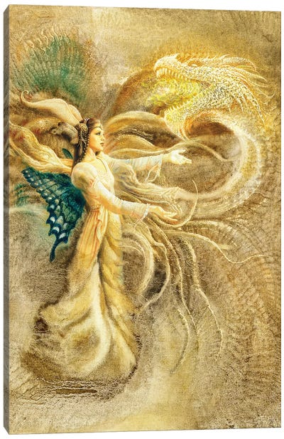 Fairy Queen Canvas Art Print