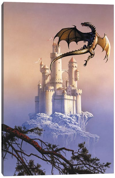 Flying Dragon Canvas Art Print
