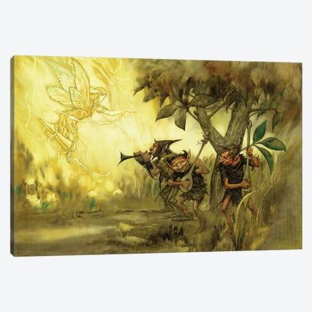 Goblins Canvas Print #CIL56} by Ciruelo Canvas Art Print