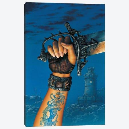 Hand Canvas Print #CIL60} by Ciruelo Canvas Art Print