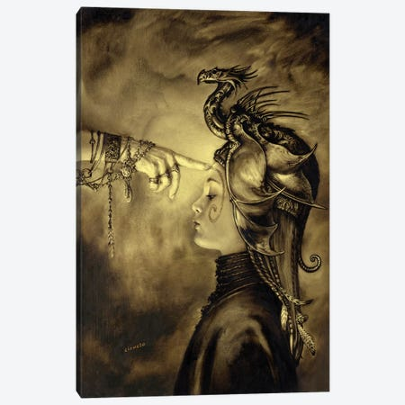 Initiation Canvas Print #CIL65} by Ciruelo Canvas Wall Art
