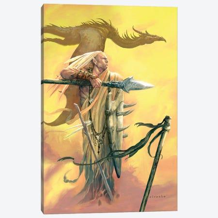 Kaipo Dragon Canvas Print #CIL66} by Ciruelo Canvas Artwork