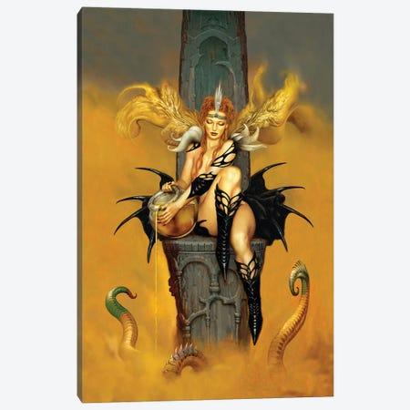Queen B Canvas Print #CIL74} by Ciruelo Art Print