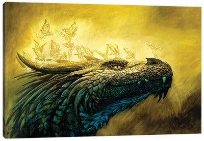 Rak Ruval And The Fairies Canvas Art Print