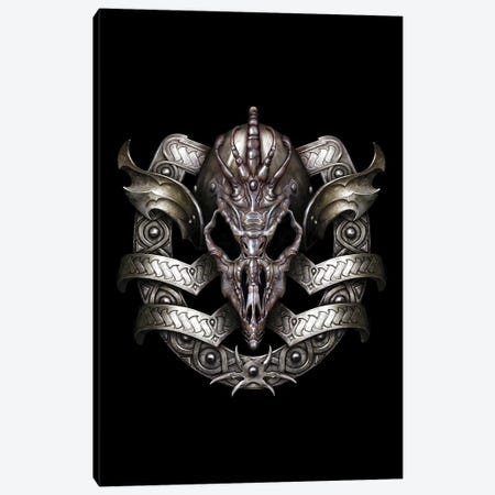 Shield Canvas Print #CIL85} by Ciruelo Canvas Art