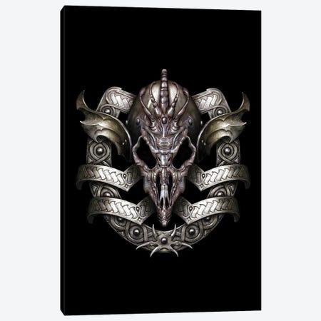 Shield Canvas Print #CIL85} by Ciruelo Canvas Art