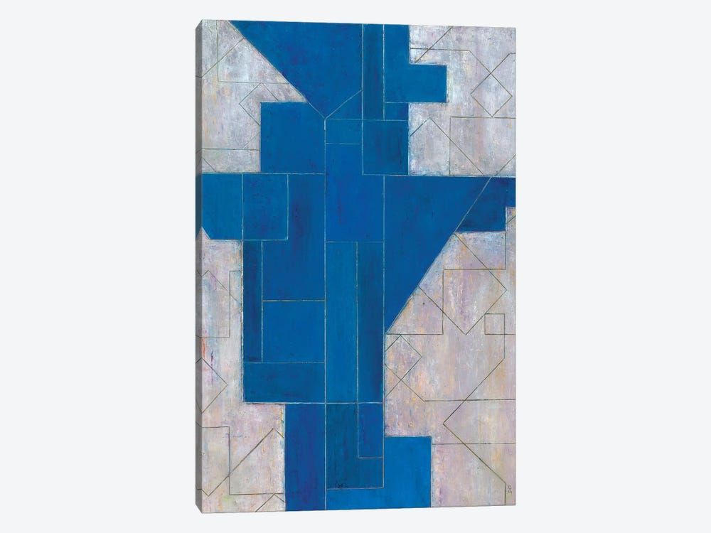 Blue Oracle by Stephen Cimini 1-piece Canvas Print