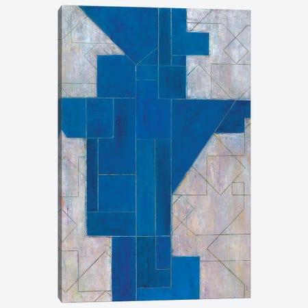 Blue Oracle Canvas Print #CIM1} by Stephen Cimini Canvas Art Print