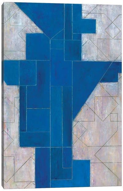 Blue Oracle Canvas Art Print