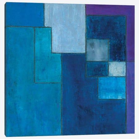 Ultra Blue Violet Canvas Print #CIM20} by Stephen Cimini Canvas Artwork