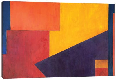 Violet Wave Canvas Art Print