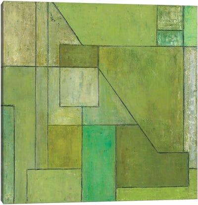 Green Light Canvas Art Print