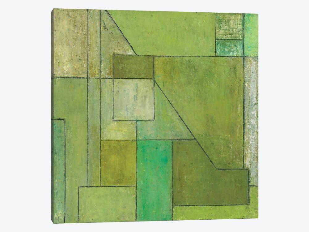 Green Light by Stephen Cimini 1-piece Canvas Art Print