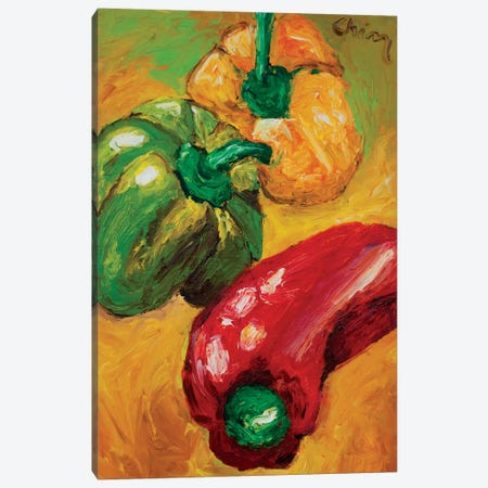 Peperoni Canvas Print #CIR104} by Chiara Magni Canvas Artwork