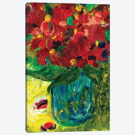 Chubby Leaf Canvas Print #CIR124} by Chiara Magni Canvas Artwork