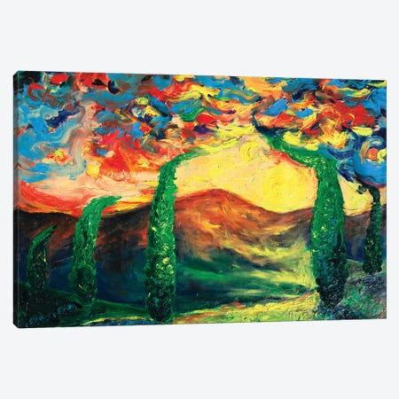 Power Of Sun Canvas Print #CIR131} by Chiara Magni Canvas Art