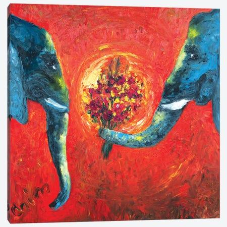 Rony And Tal Canvas Print #CIR140} by Chiara Magni Canvas Print
