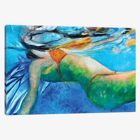 Sea Angel Canvas Print #CIR142} by Chiara Magni Art Print