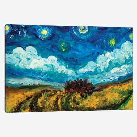Clouds And Stars Canvas Print #CIR15} by Chiara Magni Art Print