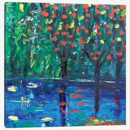 Three Trees Canvas Print #CIR161} by Chiara Magni Canvas Art Print