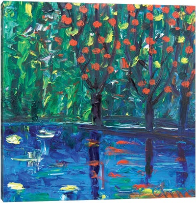 Three Trees Canvas Art Print
