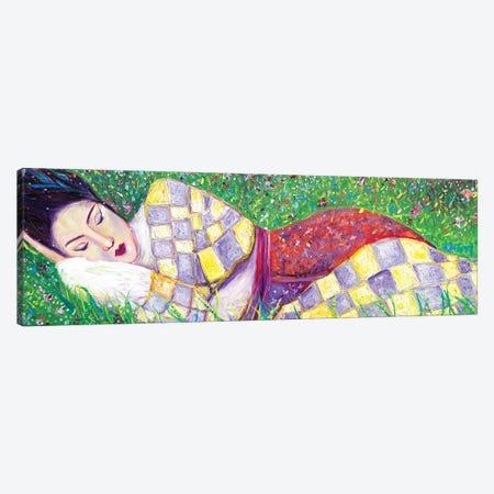 Spring Nap Canvas Print #CIR162} by Chiara Magni Canvas Print