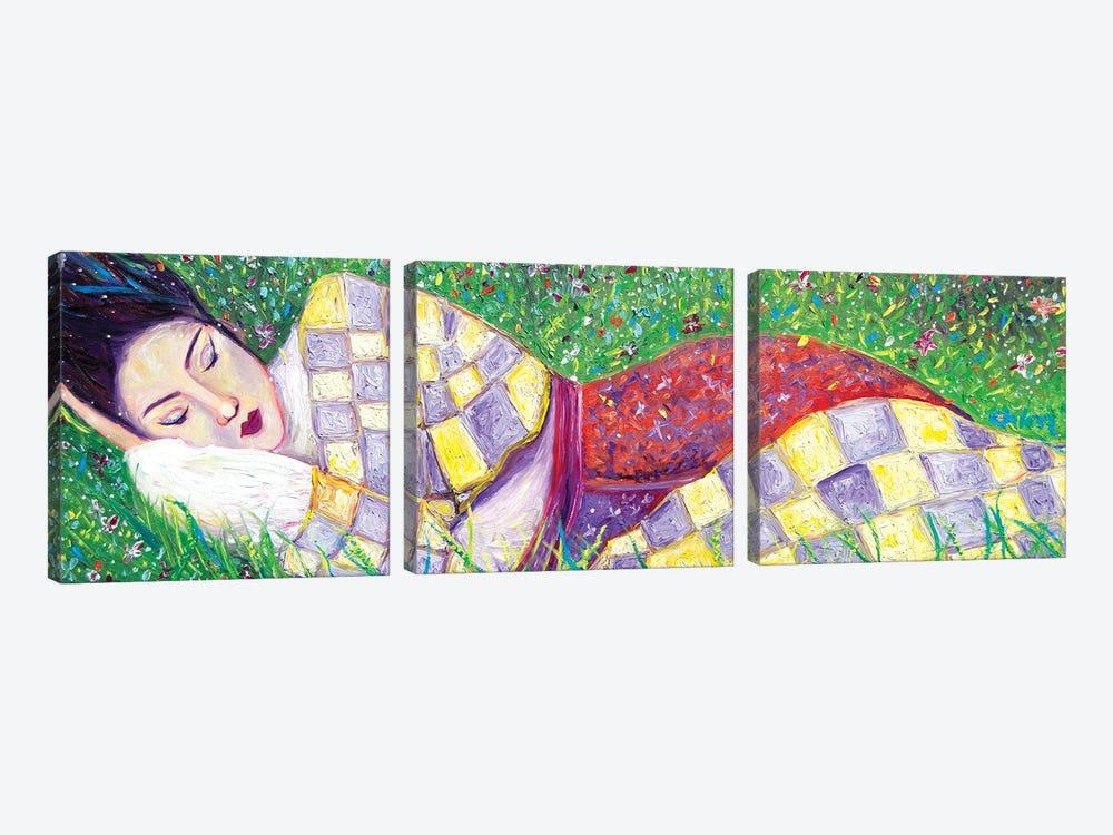 Spring Nap by Chiara Magni 3-piece Art Print