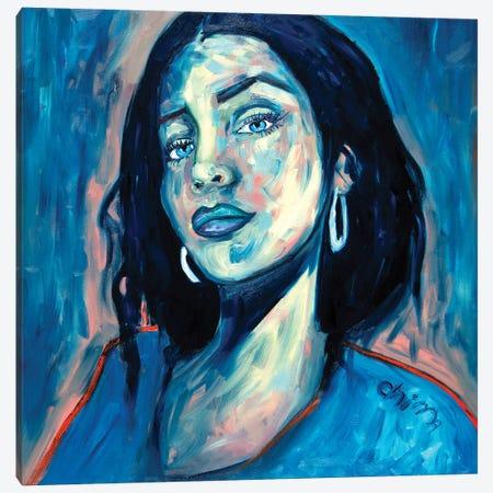 Dare Me Canvas Print #CIR163} by Chiara Magni Art Print