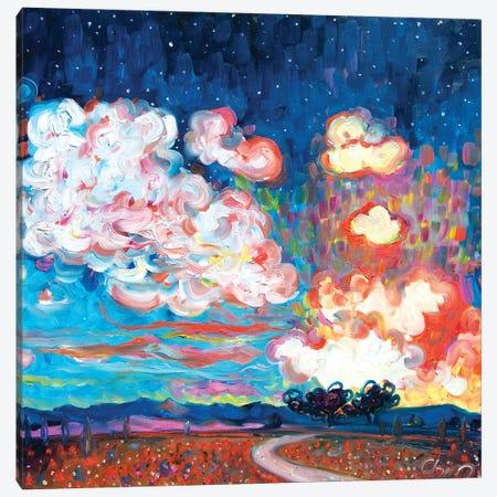 Tequila Sunset Canvas Print #CIR164} by Chiara Magni Canvas Art