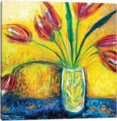 Mustard Canvas Art Print