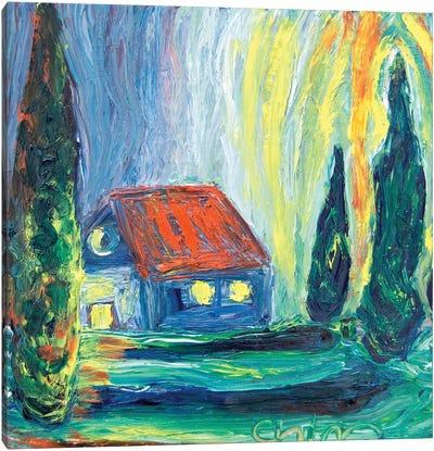 Home Lights Canvas Art Print