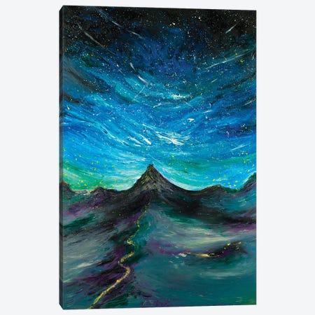 Enchanted Mountain Canvas Print #CIR20} by Chiara Magni Art Print
