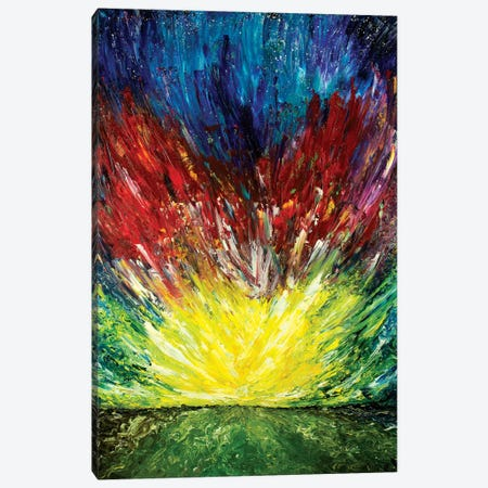 Fire Sky Canvas Print #CIR25} by Chiara Magni Canvas Wall Art