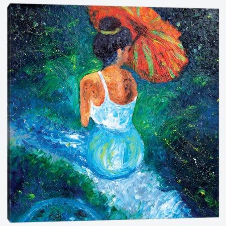 Full Moon Canvas Print #CIR32} by Chiara Magni Canvas Art