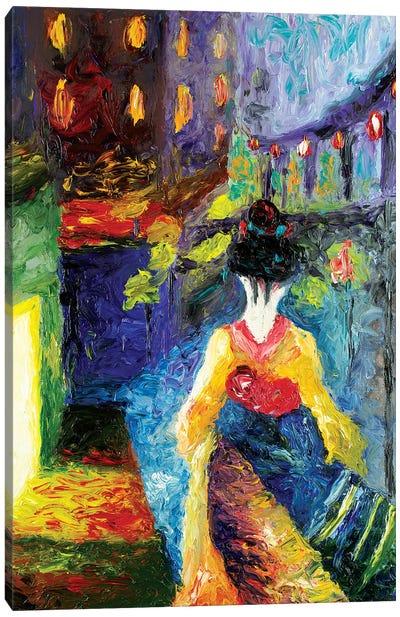 Geiko Canvas Art Print