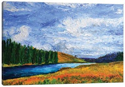 Gift To Gabrielle Canvas Art Print