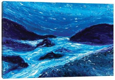 Glowing Waters Canvas Art Print