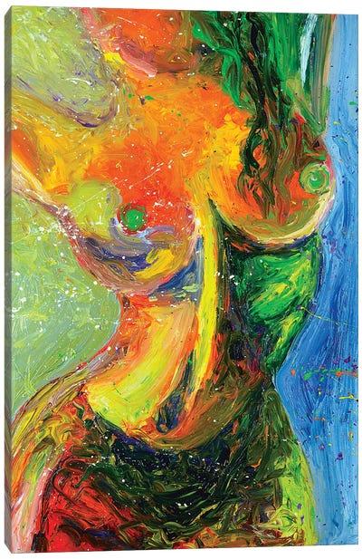 Hour Glass Canvas Art Print
